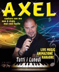 LUNEDI 30/10 - Il Karaoke di Axel @ KILL JOY
