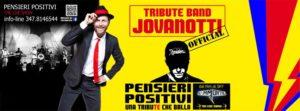DOMENICA 29/12 - PENSIERI POSITIVI - TRIBUTO JOVANOTTI @ KILL JOY