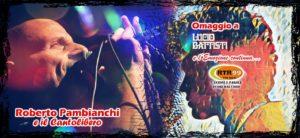 DOMENICA 29/4 - ROBERTO PAMBIANCHI - Omaggio a Lucio Battisti @ KILL JOY