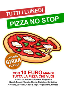 LUNEDI 23/4 - Pizza No Stop @ KILL JOY