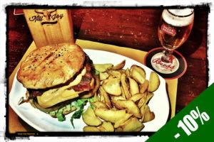 VENERDI 10/8 - Special Burger Day @ KILL JOY