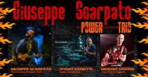 GIOVEDI 9/7 - GIUSEPPE SCARPATO POWER TRIO @ KILL JOY