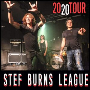 GIOVEDI 17/12 - STEF BURNS LEAGUE @ KILL JOY