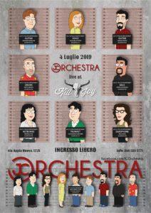 GIOVEDI 4/7 - JC BLUES ORCHESTRA @ KILL JOY