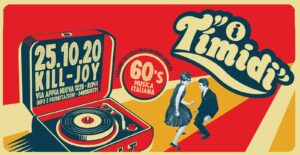 DOMENICA 25/10 - I TIMIDI - Tributo Renato Zero @ KILL JOY